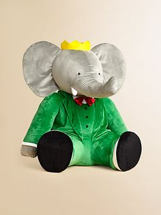 Babar! #toys #elephant #babar