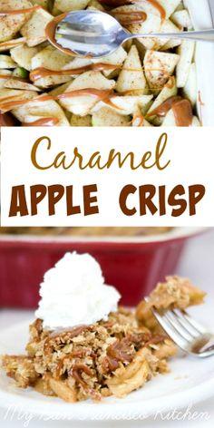 Caramel Apple Crisp - Apple Pie's Skinner Sister ;)