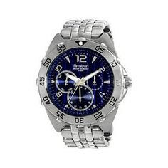 Men's Multi-Eye Blue Dial Watch - Silver Quick Information
