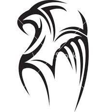 tribal hawk tattoo - Google Search
