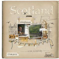 Scotland 2012 - Page 9 - Digital Scrapbooking Ideas - DesignerDigitals