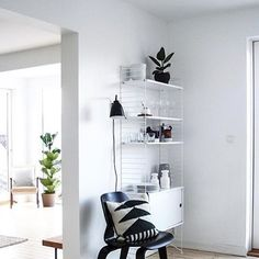 Via Mitthjemas | String Cabinet | Eames | White Nordic Home