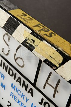 Production Used Clapperboard | Prop Store - Ultimate Movie Collectables