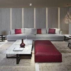 luxury ottomans