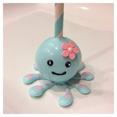 octopus cake pops