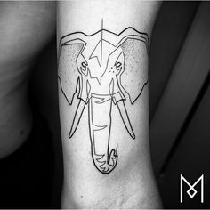 #elephant #tattoo #tattoos