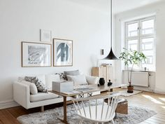 Beautiful, Natural and Warm Scandi Apartment - NordicDesign