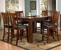 hastings 5-pc. counter-height dining set - pub style dining table