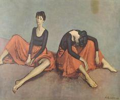 Ballet Dancers, Moses Soyer