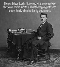 Thomas Edison's secret love code…