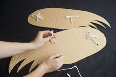 How to Make Wings for a Bird Costume   eHow