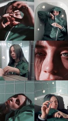 if you repost give credits! Billie Eilish, Wtf Face, Aesthetic Iphone Wallpaper, My King, Aesthetic Pictures, Cute Wallpapers, Foto E Video, My Idol, Celebs