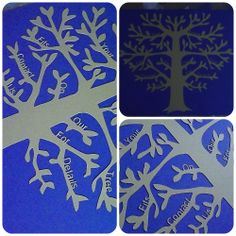 Papercut Family Tree - The Supermums Craft Fair