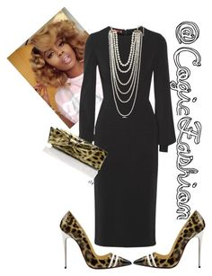 """Untitled #480"" by cogic-fashion ❤ liked on Polyvore featuring Tamara Mellon, Christian Louboutin and Kenneth Jay Lane"