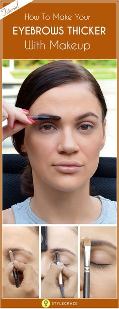 How To Fill In Your Eyebrows And Take Over The World