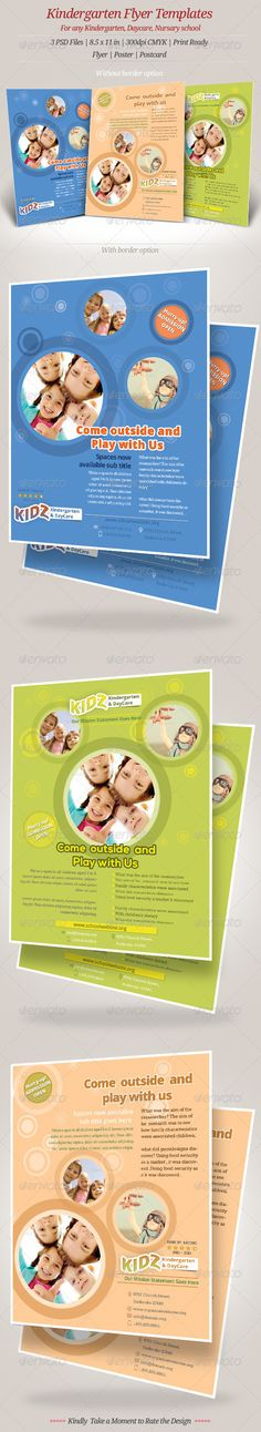 Taman Penitipan Anak - Tempat Penitipan Anak - Khalifah DayCare - Daycare Flyer Template
