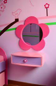 Foto de espejos originales para dormitorios infantiles 3 - Tocador madera nina ...