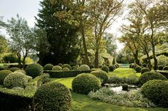 Garden of Francois and Betty Catroux in Provence