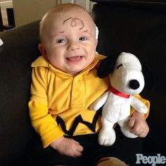 Charlie Brown and Snoopy - Halloween Costumes 2013: Halloween Costumes for Kids : People.com