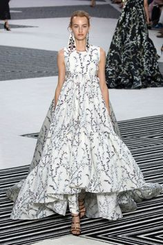 Giambattista Valli Couture at Valentino Runway Fashion from Couture Week 2015 - Best of Couture Week 2015