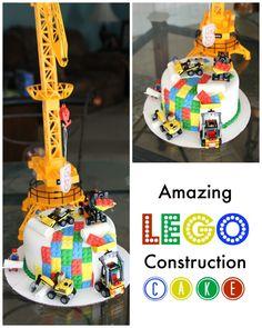 An Amazing Lego Cake {My Little Boy is 5!}  