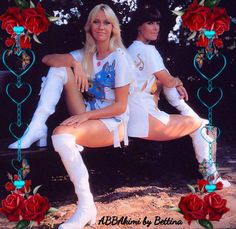 Agnetha & Frida Music Icon, Pop Music, Top Singer, Nancy Sinatra, Rock And Roll Bands, Sixties Fashion, Shows, Glam Rock, Concert Posters