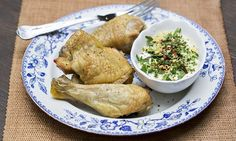 Jack Monroe's lemon chicken with herb yoghurt - delicious on a budget
