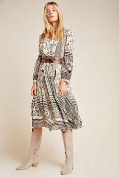Cadence Tiered Midi Dress