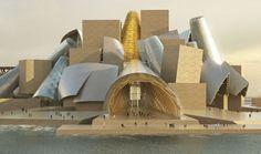Il Guggenheim di Abu Dhabi.