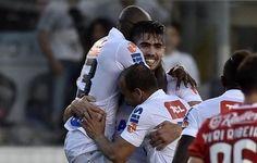 Fabián Noguera se diz pronto e espera mais chances no Santos após 1º gol  http://santosfutebolarte.omb10.com/SantosFutebolArte/placar-de-sao-paulo-x-santos
