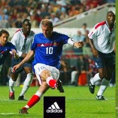 Zidane. The Maestro.