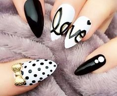 17 Stiletto Nails That Will Take Your Manicure to the Next Level | Attitude Beauty Tips