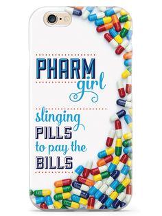 Pharm Girl - Pharmacy Tech Pharmaceuticals Case for iPhone 6 Plus