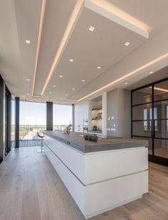 21 Ideas kitchen design open doors for 2019 Kitchen Room Design, Luxury Kitchen Design, Interior Design Kitchen, Modern Interior, Kitchen Ideas, Room Interior, Plafond Design, Küchen Design, Design Trends
