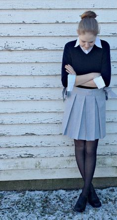 Items similar to Sailor Skirt! Stylish and comfortable to wear! Women's XS/Girl XL on Etsy Lace Tights, Skirts For Sale, Preppy Style, Sailor, Trending Outfits, Stylish, Pretty, How To Wear, School
