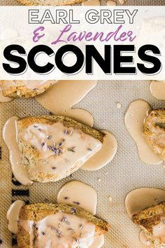 Lavender Scones, Lavender Tea, Fondant Cupcake Toppers, Cupcake Cakes, Rose Cupcake, Health Desserts, Just Desserts, Baking Desserts, Tea Recipes