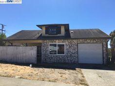 3156 Henderson Dr - Hilltop  Richmond, CA 94806 $395,200 4 bed - 2 bath fixer upper beamed ceilings 1959