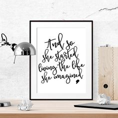 40% OFF Printable women gift Motivational wall by LUCIAandLUCIANA