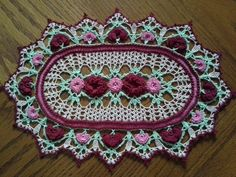 Rose Parade Doily by koepr5333.deviantart.com on @deviantART