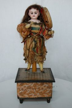 1880s Kley & Hahn Antique Automaton Doll.