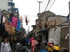 Alley in Hangzhou.