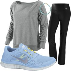 I WORKOUT, created by angeliquejackson on Polyvore