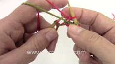 DROPS Knitting Tutorial: two color cast on for double knitting (Continental Method)