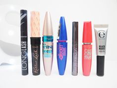 Mascaras Currently In Rotation | EssentialTwenty  The mascaras I'm currently using featuring Seventeen, Benefit, Maybelline, Urban Decay & Eyeko.