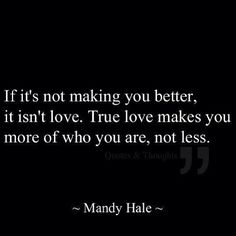 I learned this the hard way, but it was the best lesson for my life.