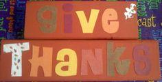 Easy Thanksgiving craft.