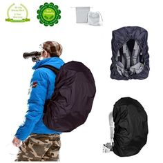 Joy Walker Backpack Rain Cover 5000mm Waterproof Braeathable Suitable for Backpack 40L- 55L Hiking /Camping /Traveling/Daily Use (Size: L) * Remarkable product available now. : Backpacking gear