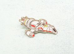 sci-fi spaceship enamel pin inspired by serenity firefly from Pinznthingz.com!