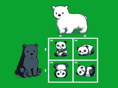 Codominance Panda | TeeTurtle