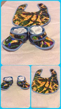 Bib and Sandals $15